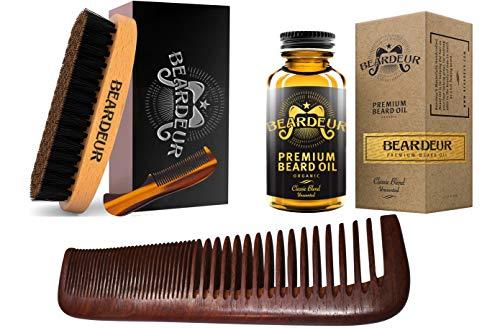 Beard Brush, Best Natural Wooden Hair Brush For Men, 100% ...